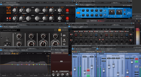 Quality Mastering Tools