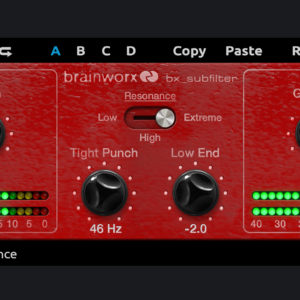 bx_subfilter free plugin by Brainworx at plugin-alliance