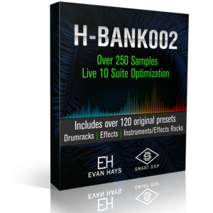 HB002 Sample Pack optimised for ableton live 10 made by Evan Hays