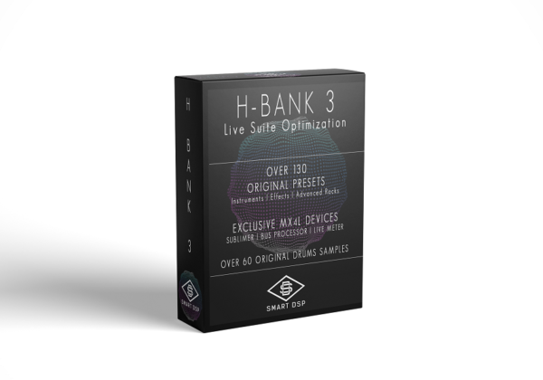 H-BANK 3 presets pack for live ableton live suite