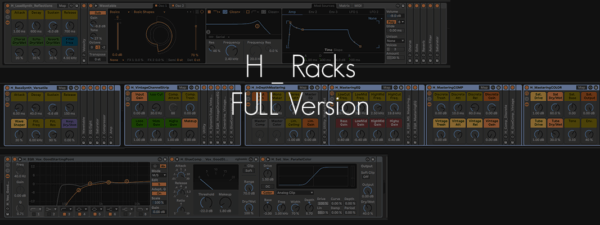H_Racks Ableton audio effects racks presets for mixing and mastering by Evan Hays