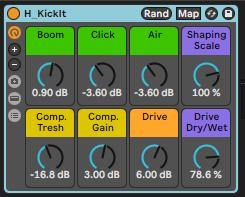 Kick Processing Free Preset Rack Ableton Live