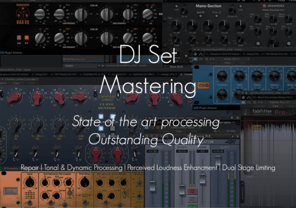Dj Set Mastering Smart DSP